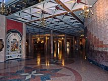 El interior del santuario Imagen de archivo
