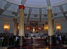El interior del santuario Fotografía de archivo