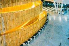 El interior del teatro de la ópera de Oslo es el hogar de Foto de archivo libre de regalías
