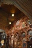 El interior del templo Imagenes de archivo