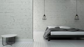 El interior industrial 3d rinde imágenes Imágenes de archivo libres de regalías