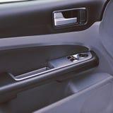 El interior moderno del coche detalla el primer Foto de archivo