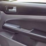 El interior moderno del coche detalla el primer fotografía de archivo libre de regalías