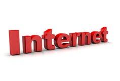 El Internet Imagen de archivo