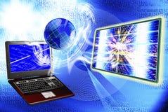 El Internet de la tecnología Foto de archivo