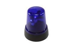 El interruptor intermitente azul Imágenes de archivo libres de regalías
