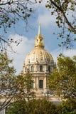 El Invalides en París en Francia Fotografía de archivo