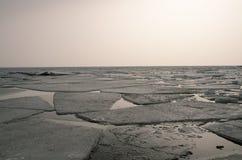 El invierno crudo Foto de archivo