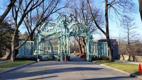 El invierno 2015 89 del parque zoológico de Bronx Fotografía de archivo