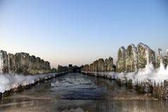 El invierno en la playa Foto de archivo libre de regalías