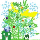 El invierno es 3 que vienen Fotos de archivo libres de regalías