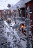 El invierno está aquí Imágenes de archivo libres de regalías