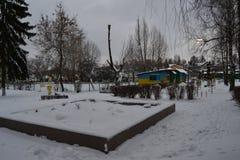 El invierno ha venido Foto de archivo libre de regalías