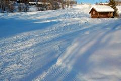 El invierno nórdico Fotografía de archivo libre de regalías