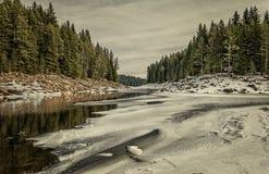 El invierno va Fotografía de archivo libre de regalías