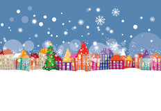 El invierno vino ilustración del vector