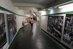 El ir abajo al tren Imagen de archivo libre de regalías