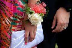 El ir al baile de fin de curso Imagen de archivo