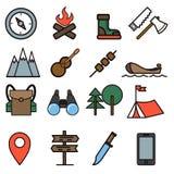 El ir de excursión Imagen de archivo libre de regalías