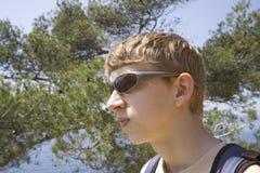 El ir de excursión adolescente Foto de archivo libre de regalías