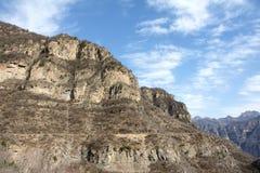 El ir de excursión de la montaña Fotos de archivo libres de regalías