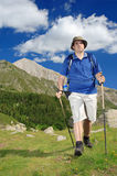 El ir de excursión en el parque nacional Pirin Imagen de archivo libre de regalías