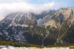 El ir de excursión en el Tatra polaco Foto de archivo