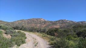 El ir de excursión en las montañas Imagen de archivo