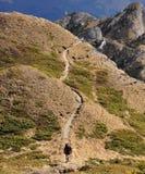 El ir de excursión en las montañas de Ciucas Fotografía de archivo libre de regalías
