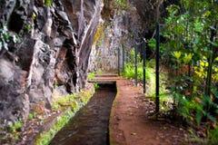 El ir de excursión en Madeira Foto de archivo libre de regalías