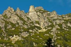 El ir de excursión en el Tatra polaco Foto de archivo libre de regalías