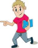 El ir a la escuela Imagen de archivo libre de regalías