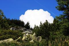 El ir para arriba la montaña Imagen de archivo
