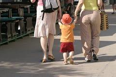 El ir para una caminata Foto de archivo
