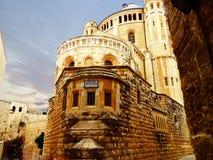 El Israel, Jerusalim, el monte Sion Foto de archivo