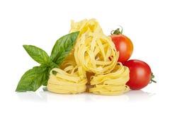 El italiano colorea el alimento fotografía de archivo