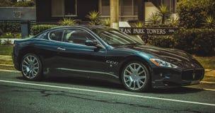 El ` italiano Maserati de la belleza corrigió ` imagen de archivo libre de regalías