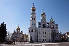 El Ivan el gran complejo de la Alarma-Torre fotografía de archivo libre de regalías