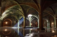 El Jadida cistern, Morocco. Water reservoir stock photos