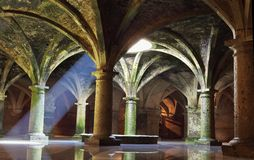 El Jadida cistern, Morocco Royalty Free Stock Images