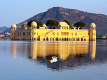 El Jal Mahal del palacio Imagen de archivo
