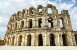 El-Jam, colosseum, Tunisia Royalty Free Stock Photography