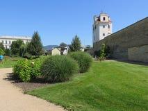 El jardín de Å™ice del› de LitomÄ de la República Checa foto de archivo libre de regalías