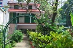 El jardín de Baldha es uno de los jardines botánicos más viejos de Bangladesh El jardín se enriquece con la especie rara de la pl imagen de archivo libre de regalías