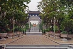 El jardín de Baomo está situado en la aldea de Zini, China Fotos de archivo
