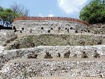 El jardín de piedras de Chandigarh, la India Imágenes de archivo libres de regalías