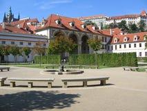 El jardín de Wallenstein. Foto de archivo libre de regalías