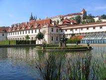 El jardín de Wallenstein en Praga. Foto de archivo