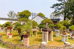 El jardín del administrador humilde imagen de archivo libre de regalías