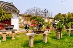 El jardín del administrador humilde fotografía de archivo
